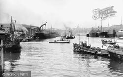 Sunderland, Shipyards On The Wear c.1900