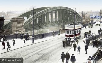 Sunderland, the Bridges 1900