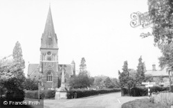 Sunningdale, Church And Village c.1955
