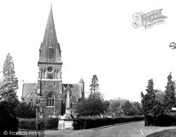 Sunningdale, Holy Trinity Church c.1955