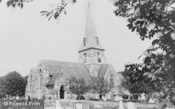 Sunningdale, Holy Trinity Church c.1965