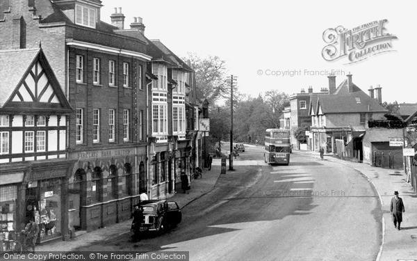 Photo of Sunningdale, London Road c1955