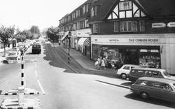 Sunningdale, Shops On Chobham Road c.1965