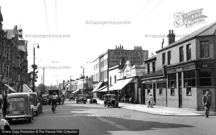 Surbiton, Brighton Road c1955