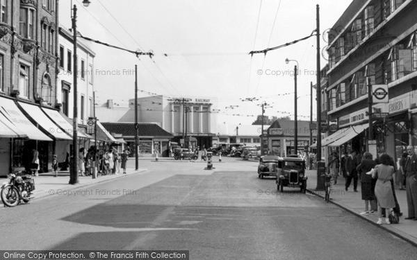 Surbiton, Claremont Road c1955