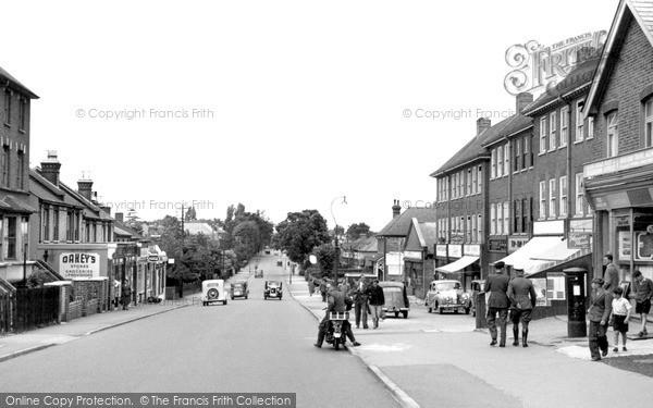 Surbiton, Hook Road c1955