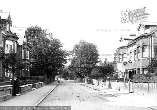 Surbiton, King Charles Road 1907