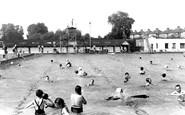 Surbiton, Swimming Pool c1955