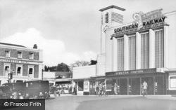 The Station c.1955, Surbiton
