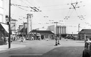 Surbiton, the Station c1955