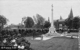 Surbiton, War Memorial 1923