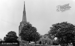 Surfleet, Leaning Tower Of St Laurence c.1955