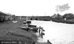 Surfleet, The Reservoir c.1955