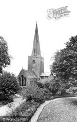 Sutterton, St Mary's Church c.1955
