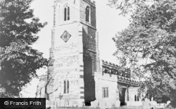 Sutton, All Saints Church c.1960