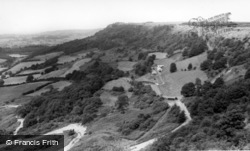 And Lake Gomire c.1960, Sutton Bank