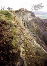 The Hambleton Scarp, Whitestone Cliff c.1980, Sutton Bank