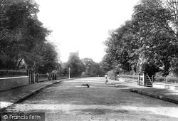 Sutton, Benhill Road 1903