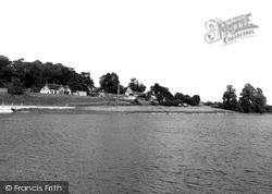 Sutton Bingham, Reservoir c.1960