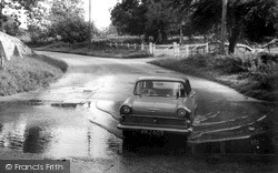 Sutton, Car In The Ford c.1955