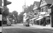 Sutton, Cheam Road c1955