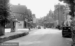 Sutton, Cheam Road c.1955