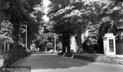 Sutton, Cheam Road c.1960