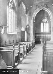 Church Interior c.1965, Sutton