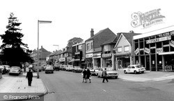 Sutton Coldfield, Birmingham Road c.1965