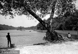 Sutton Coldfield, Bracebridge Pool, Sutton Park c.1960