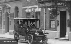 Car At Royal Hotel, High Street c.1915, Sutton Coldfield