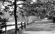 Sutton Coldfield, Sutton Park, Bracebridge Pool c1960
