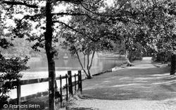 Sutton Coldfield, Sutton Park, Bracebridge Pool c.1960