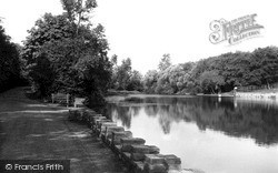 Sutton Coldfield, Sutton Park, Keepers Pool c.1960