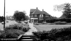 Sutton Coldfield, The Driffold And Boddington Gardens c.1965