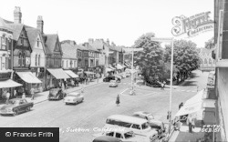 Sutton Coldfield, The Parade c.1960