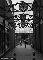 Sutton Coldfield, The Walkway By The Gracechurch Centre 2005