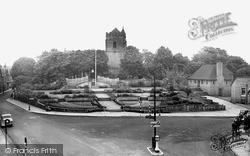 Sutton Coldfield, Vesey Memorial Gardens c.1950