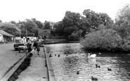 Sutton Coldfield, Wyndley Pool, Sutton Park c1960