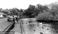 Sutton Coldfield, Wyndley Pool, Sutton Park c.1960