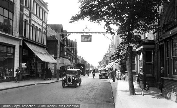 Photo of Sutton, High Street 1932, ref. 85078