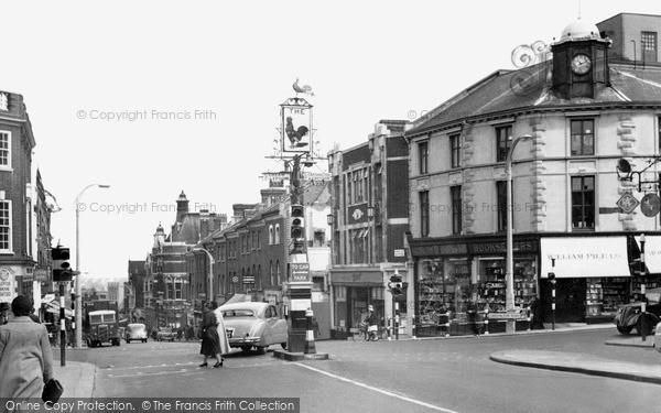 Sutton, High Street c1960