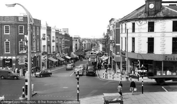 Photo of Sutton, High Street c.1965
