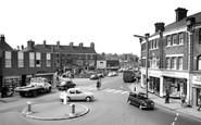 Sutton-In-Ashfield, Town Square 1968