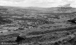 Sutton In Craven, General View c.1960, Sutton-In-Craven