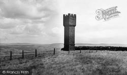 Sutton In Craven, Lund's Tower c.1960, Sutton-In-Craven