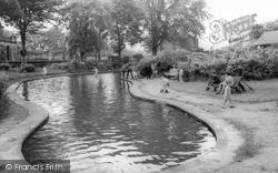 Sutton In Craven, The Park c.1960, Sutton-In-Craven