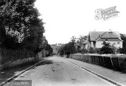 Sutton, Manor Park Road 1903