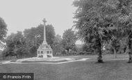 Sutton, Manor Park War Memorial 1932