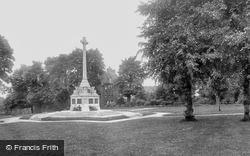 Sutton, Manor Park War Memorial 1932